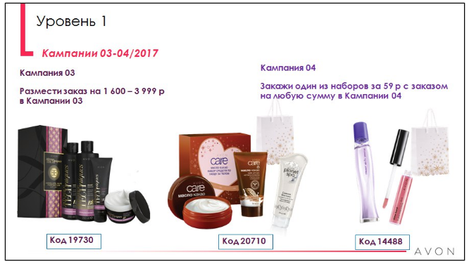 распродажа эйвон4